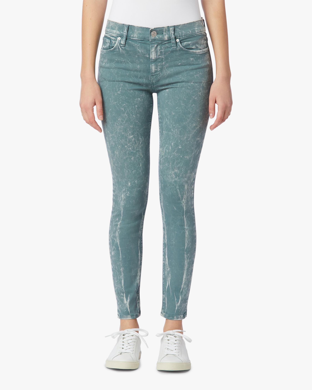 Hudson Nico Mid-Rise Super-Skinny Ankle Jeans 0