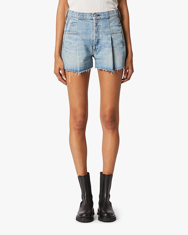 Hudson Paperbag Loose Shorts 0