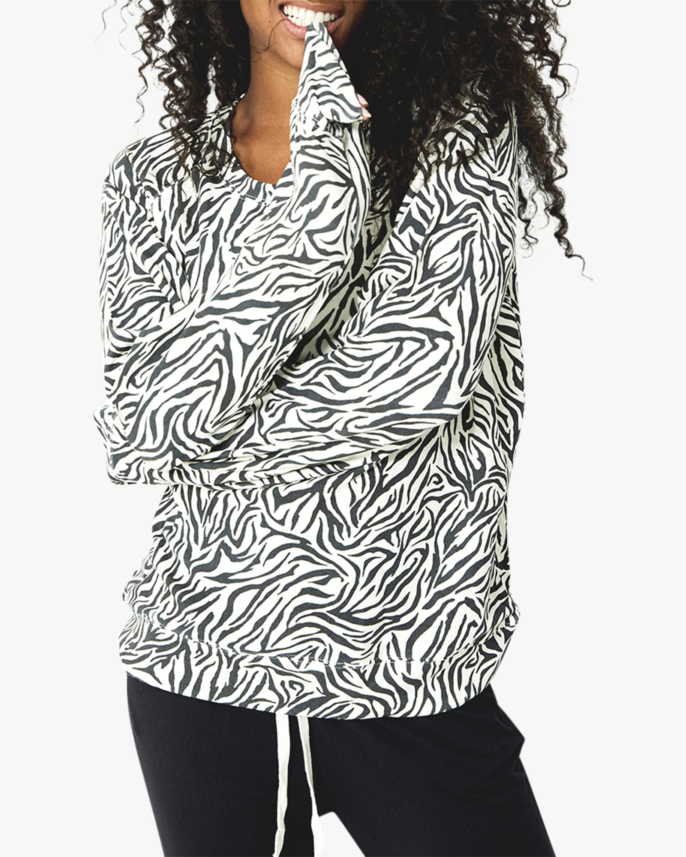 Stripe & Stare Safari Flamingo Sweatshirt 0
