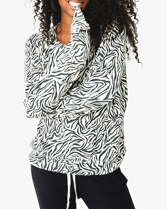 Stripe & Stare Safari Flamingo Sweatshirt 1