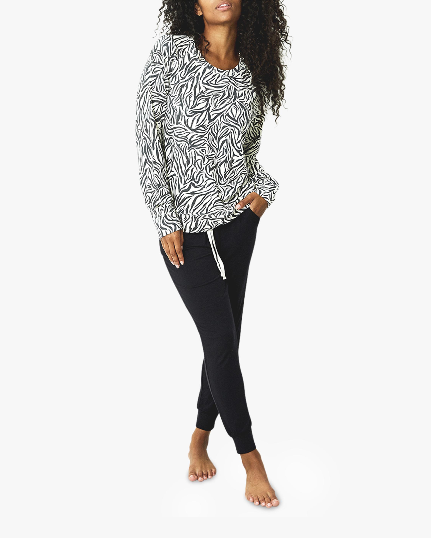 Stripe & Stare Safari Flamingo Sweatshirt 1
