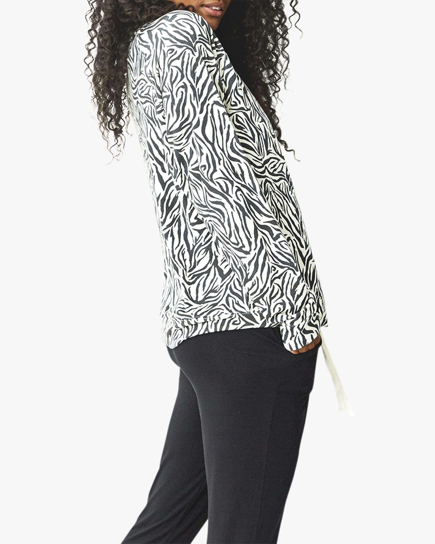 Stripe & Stare Safari Flamingo Sweatshirt 3