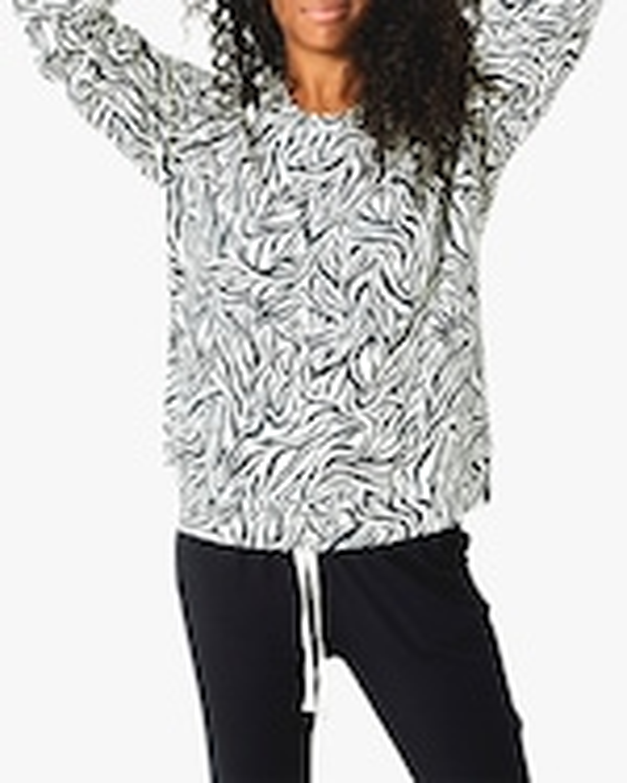 Stripe & Stare Safari Flamingo Sweatshirt 4