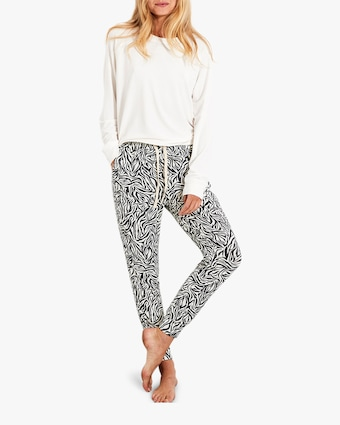 Stripe & Stare Safari Lounge Pants 2