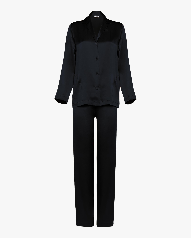 La Perla Long Silk Pajama Set 1