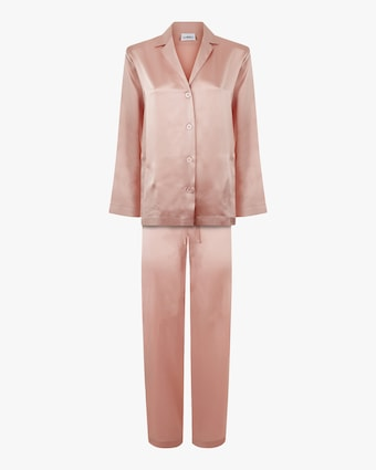 La Perla Long Silk Pajama Set 1