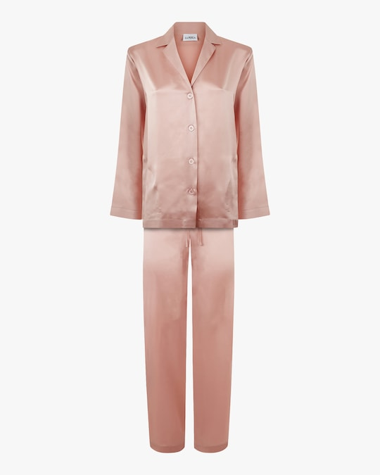 La Perla Long Silk Pajama Set 0