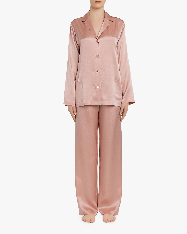La Perla Long Silk Pajama Set 2