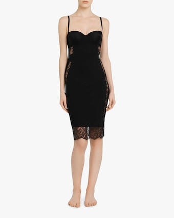 La Perla Balconette Lace Slip Dress 2