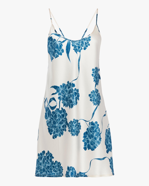 La Perla Short Silk Slip Dress 0
