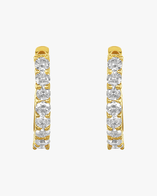 Amrapali Diamond Huggie Earrings 1