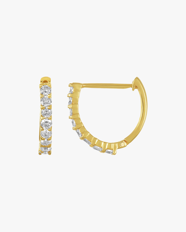 Amrapali Diamond Huggie Earrings 2