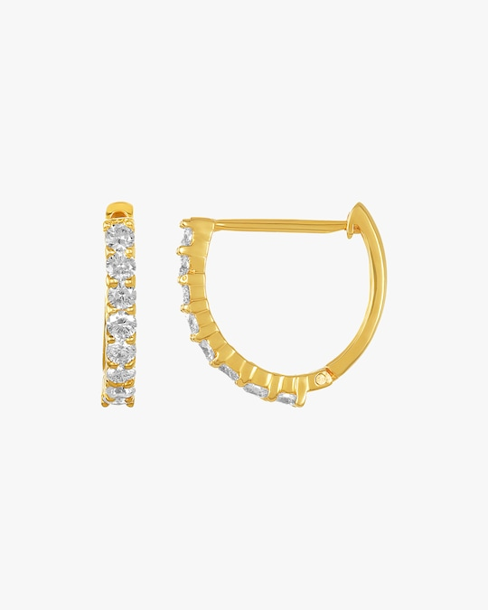 Amrapali Diamond Huggie Earrings 1