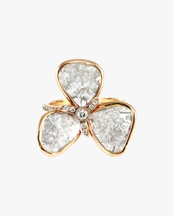 Amrapali Diamond Petal Ring 1