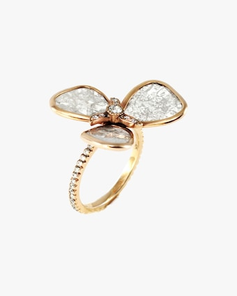 Amrapali Diamond Petal Ring 2