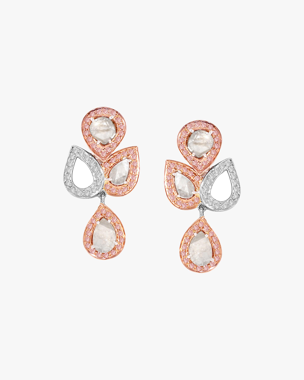 Amrapali Diamond Slice Drop Earrings 2