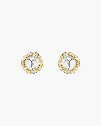 Amrapali Gray Diamond Slice Earrings 1