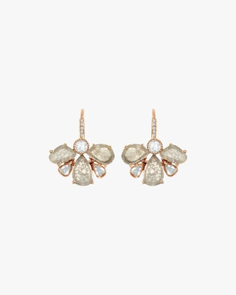 Amrapali Diamond Slice Petal Earrings 1