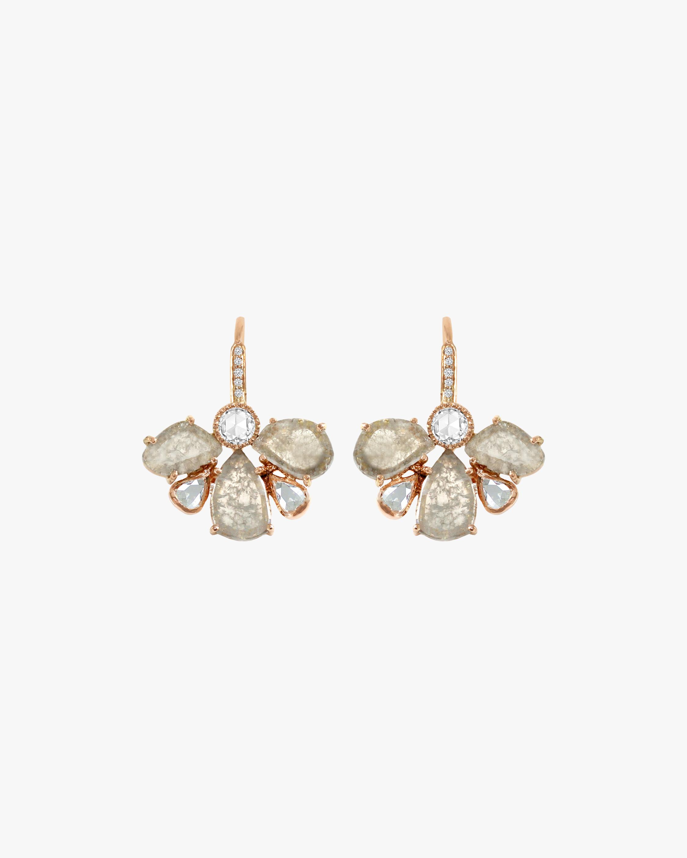 Amrapali Diamond Slice Petal Earrings 2