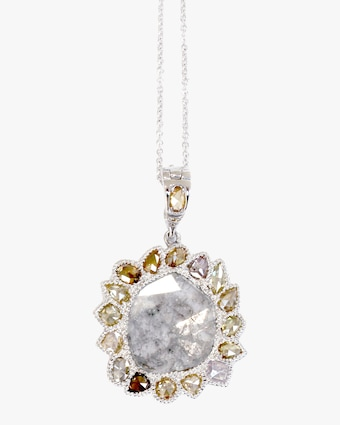 Amrapali Natural Diamond Pendant Necklace 1