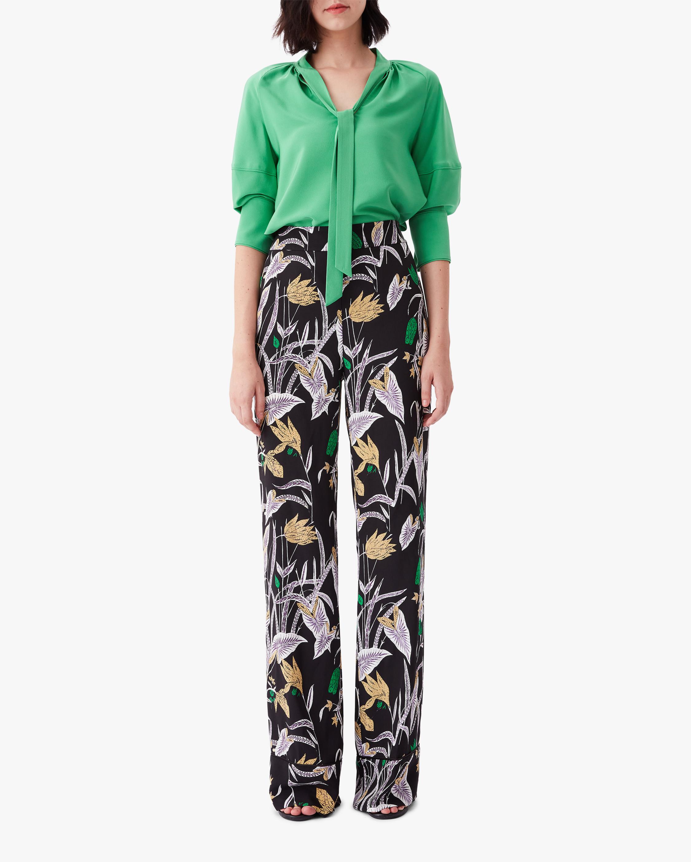 Diane von Furstenberg Federica Pants 0