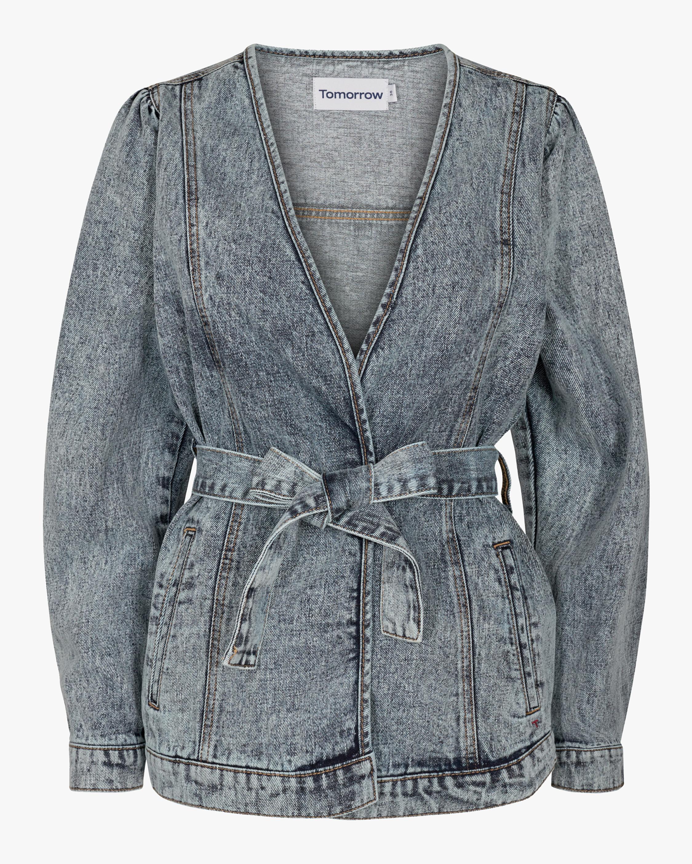 Tomorrow Hepburn Denim Wrap jacket 0
