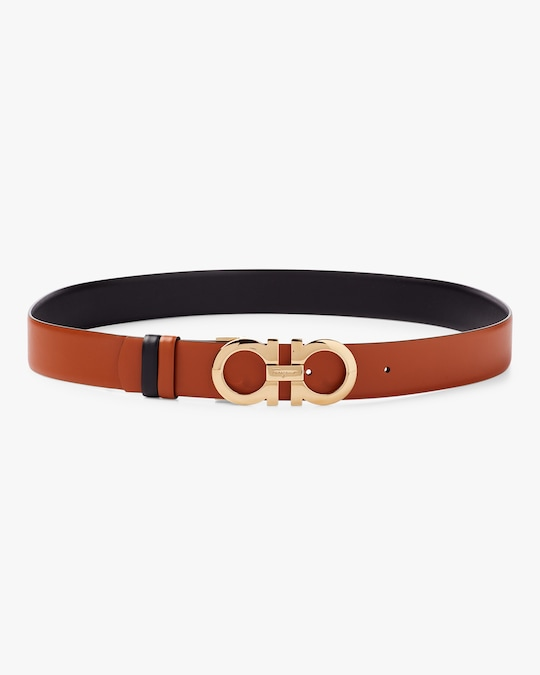 Salvatore Ferragamo G. Mediterraneo Vitello Belt 0