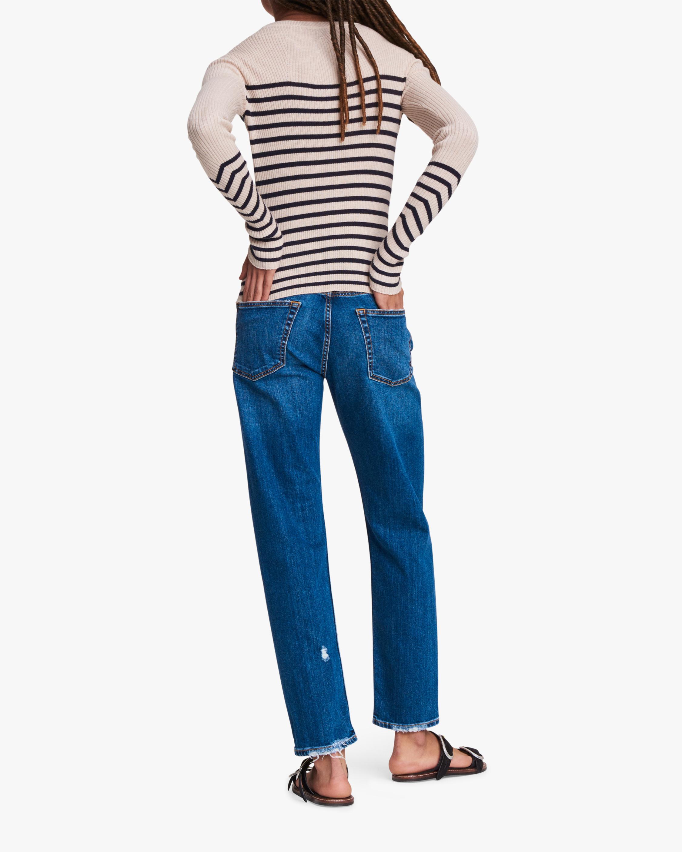 rag & bone Kate Striped Long-Sleeve Top 2