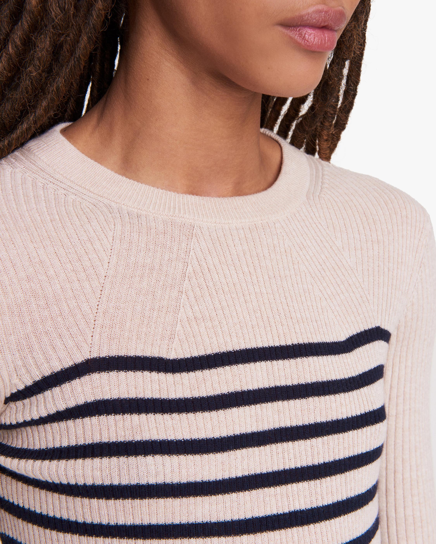 rag & bone Kate Striped Long-Sleeve Top 4
