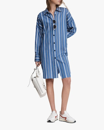 rag & bone Sandra Striped Shirt Dress 1