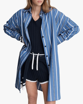 rag & bone Sandra Striped Shirt Dress 2