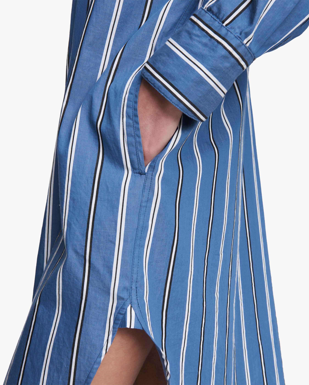 rag & bone Sandra Striped Shirt Dress 4
