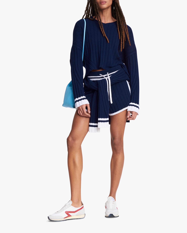 rag & bone Serena V Neck Top 2