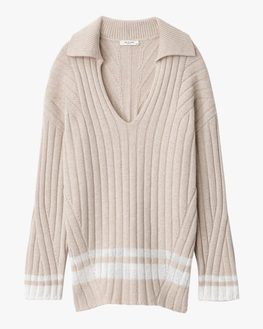 rag & bone Serena Polo Tunic 0
