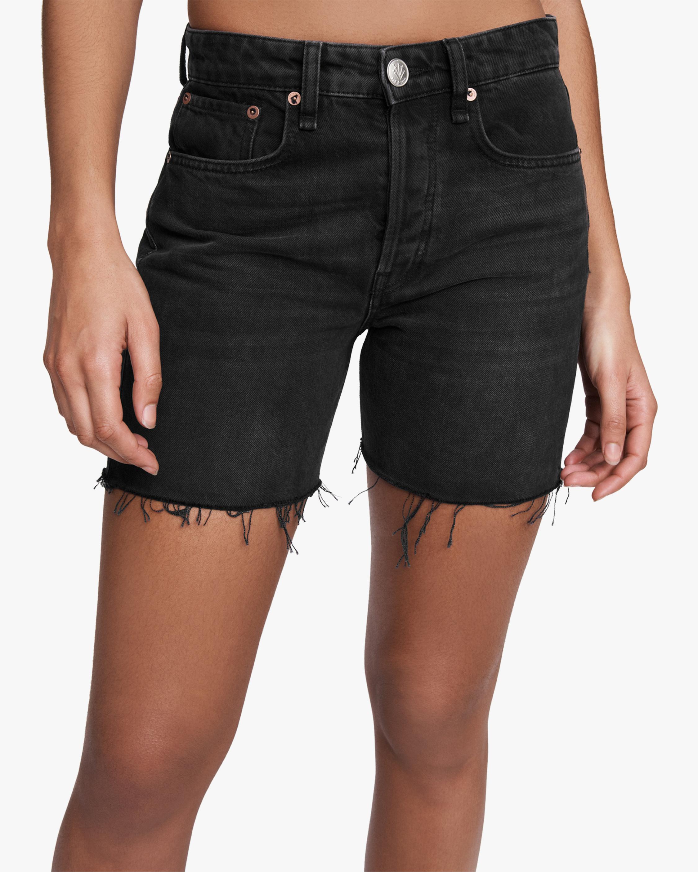 rag & bone Maya High-Rise Midi Shorts 4