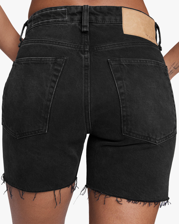 rag & bone Maya High-Rise Midi Shorts 5