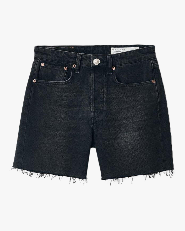rag & bone Maya High-Rise Midi Shorts 1