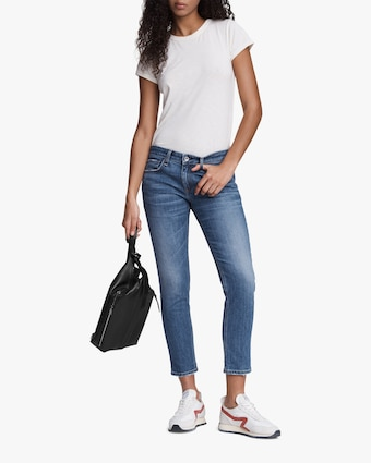 rag & bone Dre Low-Rise Slim Boyfriend Jeans 1