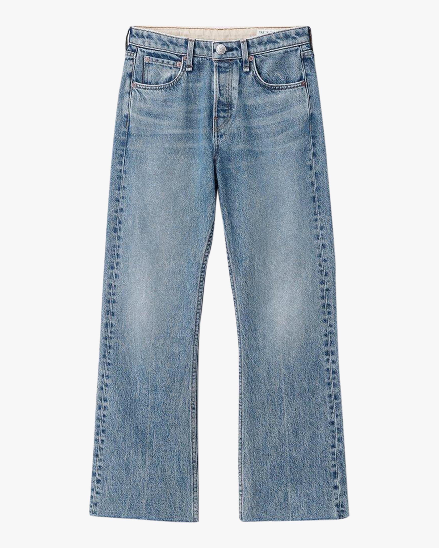 rag & bone Maya High-Rise Cropped Flare Jeans 1