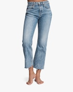 rag & bone Maya High-Rise Cropped Flare Jeans 5