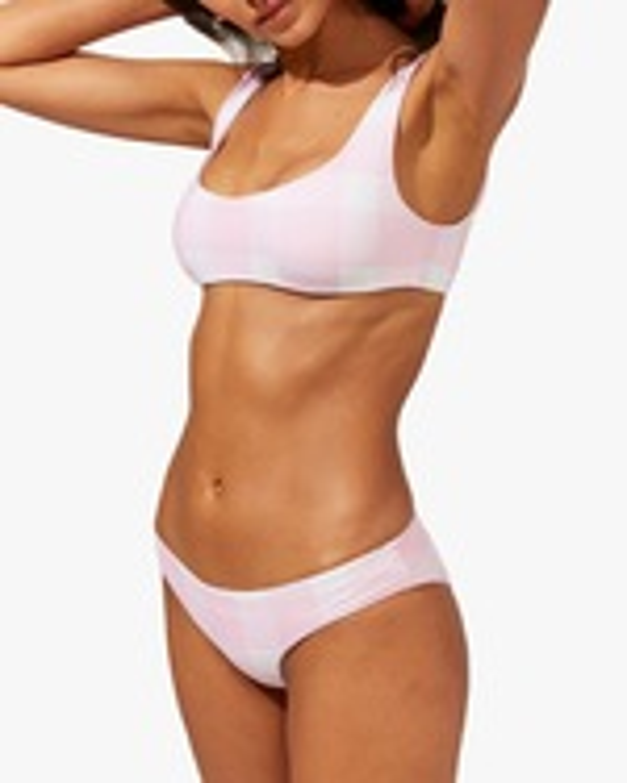 Solid & Striped The Ella Gingham Reversible Bikini Bottom 2