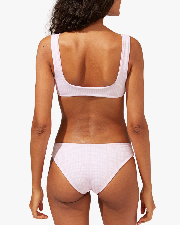 Solid & Striped The Ella Gingham Reversible Bikini Bottom 4