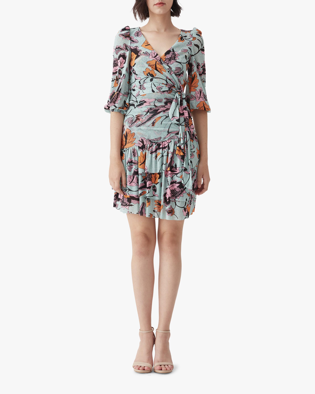 Diane von Furstenberg Cora Mini Dress 0