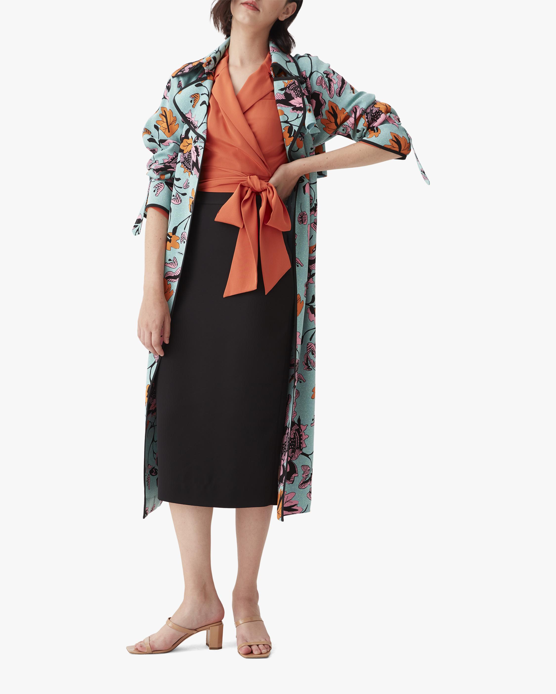 Diane von Furstenberg Eda Coat 0