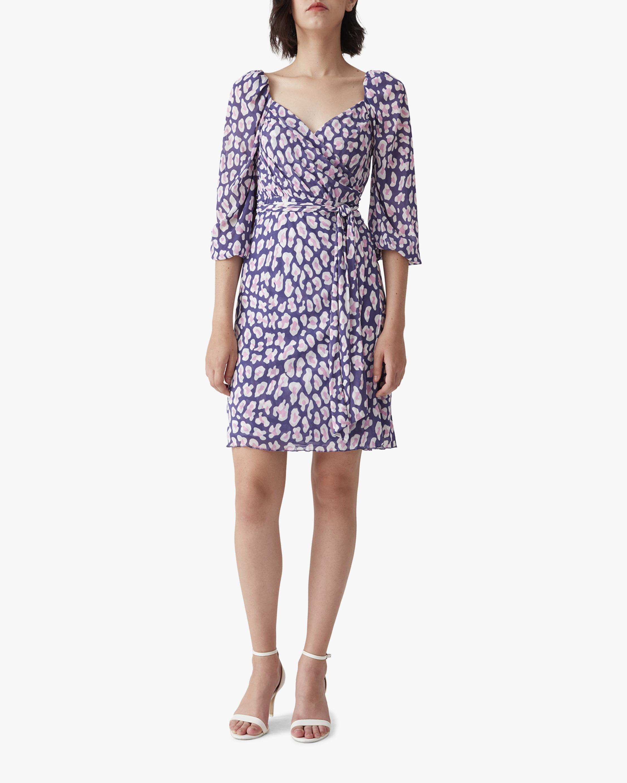 Diane von Furstenberg Abby Mini Dress 0