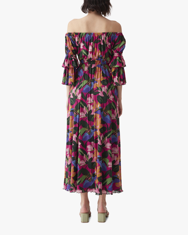 Diane von Furstenberg Cheryl Off-Shoulder Dress 1