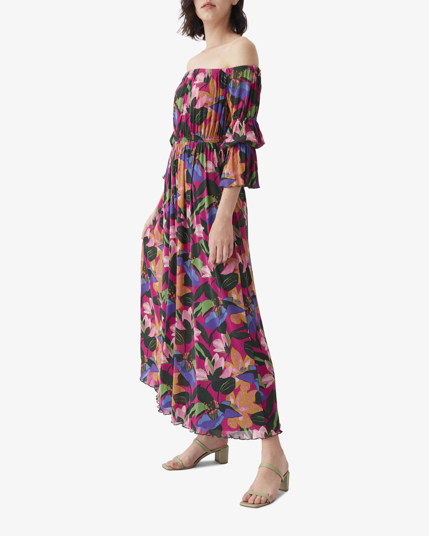 Diane von Furstenberg Cheryl Off-Shoulder Dress 2