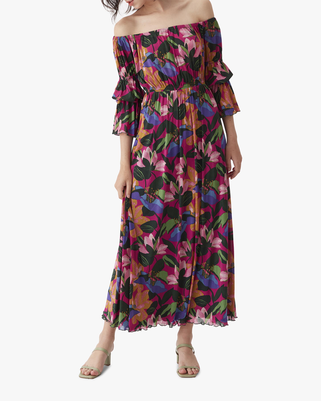 Diane von Furstenberg Cheryl Off-Shoulder Dress 3