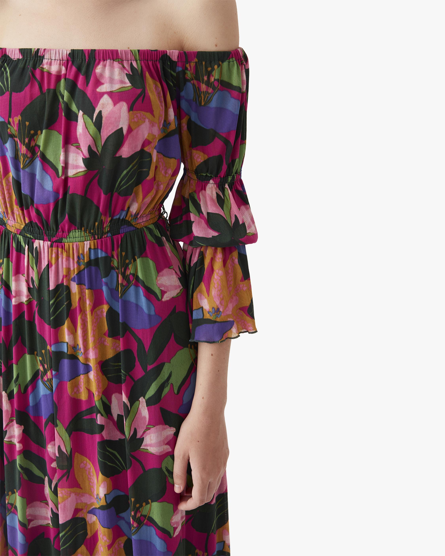 Diane von Furstenberg Cheryl Off-Shoulder Dress 5