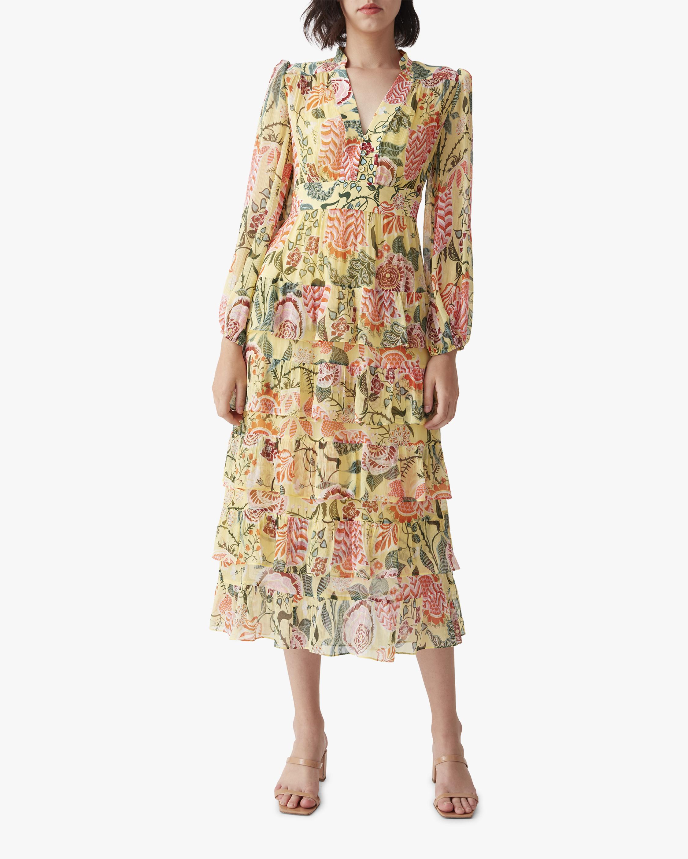 Diane von Furstenberg Abeni Midi Dress 0
